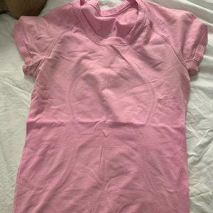 Lululemon Short sleeve top (moisture-wicking)